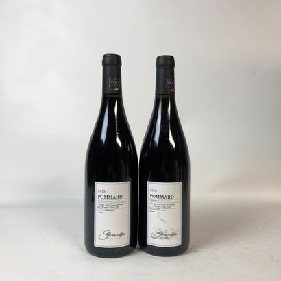 2 bouteilles POMMARD 2015 Girardin