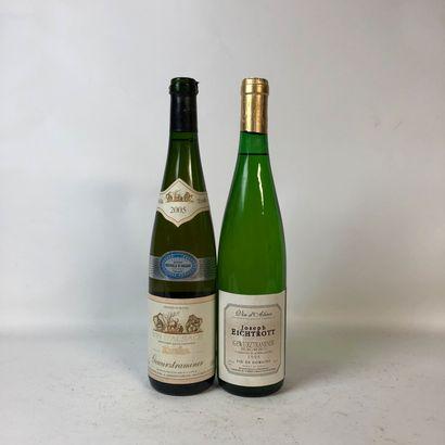 2 bouteilles : 1 GEWURTRAMINER 2005 Kuehn,...
