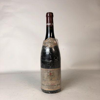 1 bouteille CROZES HERMITAGE 2001
