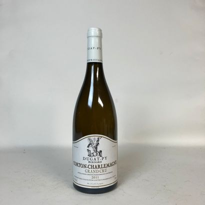 1 bouteille CORTON CHARLEMAGNE 2011 Grand...