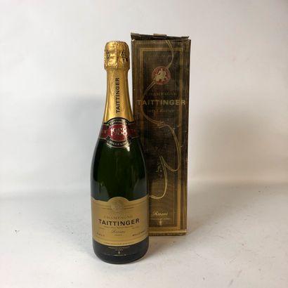 1 bouteille CHAMPAGNE TAITTINGER 1988 Brut...