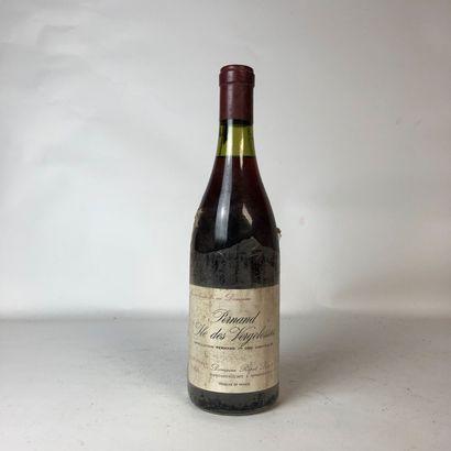 1 bouteille PERNAND-VERGELESSES 1984 1er...