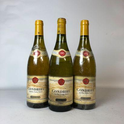 3 bouteilles : 2 CONDRIEU 1993 E. Guigal,...