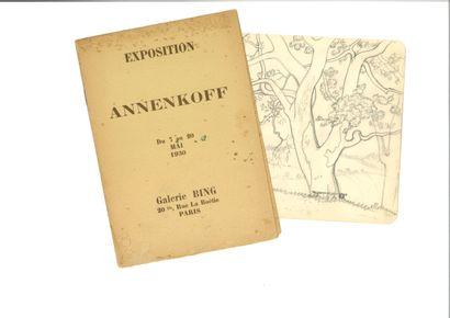 ANNENKOFF GEORGES (1889-1974)  LOT de 6 dessins...