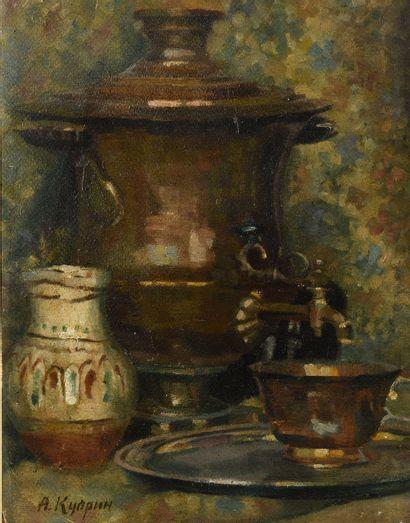 KUPRIN ALEKSANDR (1880-1960), ATTRIBUE A...