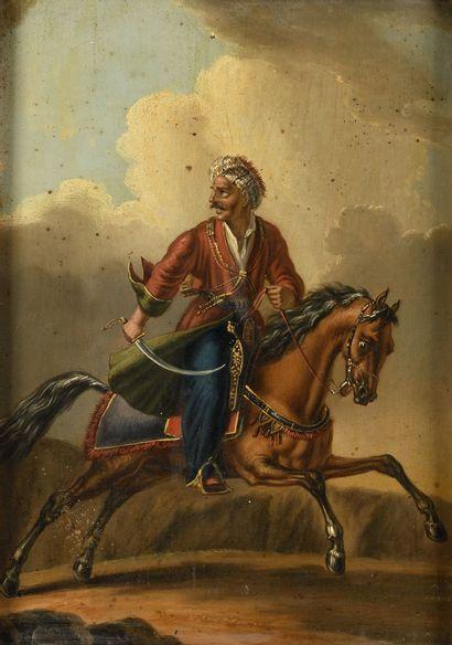ORLOWSKY ALEXANDER (1777-1832)  Turc à cheval...