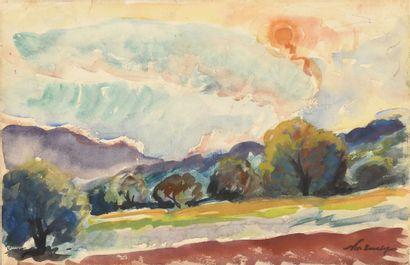 TARKHOFF NICOLAS (1871-1930)  Le labour au...