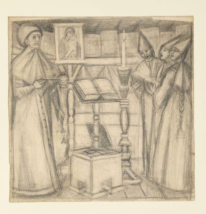 STELLETSKY DIMITRI (1875-1947)  Dans une...