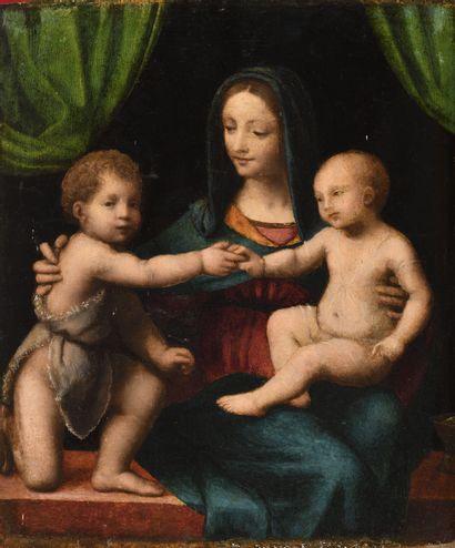 ECOLE LOMBARDE VERS 1520, SUIVEUR DE BERNARDINO...