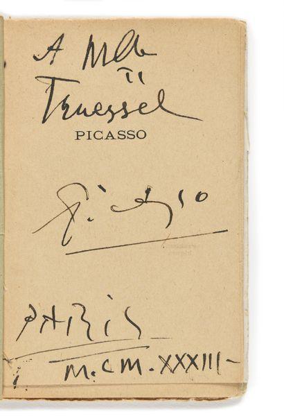 PICASSO (Pablo). – COCTEAU ( Jean). Picasso....