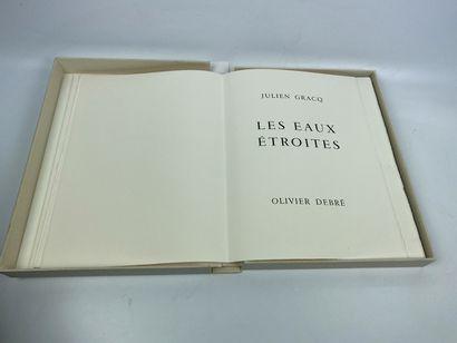 GRACQ (Louis Poirier, dit Julien). Les Eaux...