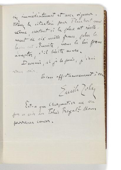 SOIRÉES DE MÉDAN (LES). Paris, G. Charpentier, 1880. In-12, (8 dont les 2 premières...