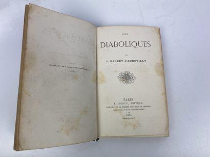 BARBEY D'AUREVILLY ( Jules). Les Diaboliques....