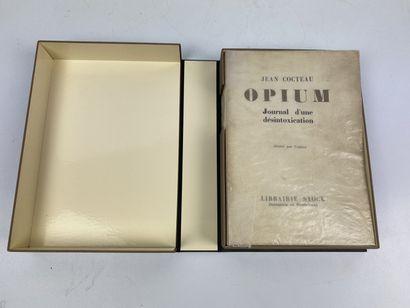 COCTEAU ( Jean). Opium. Paris, Librairie...