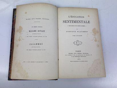 LITTÉRATURE. – Ensemble de 4 volumes. ÉDITIONS...