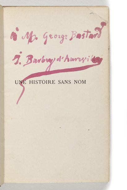 BARBEY D'AUREVILLY ( Jules). Une Histoire...