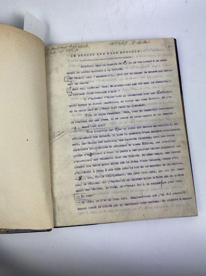LITTÉRATURE. – Ensemble de 2 volumes. – FRANCE...