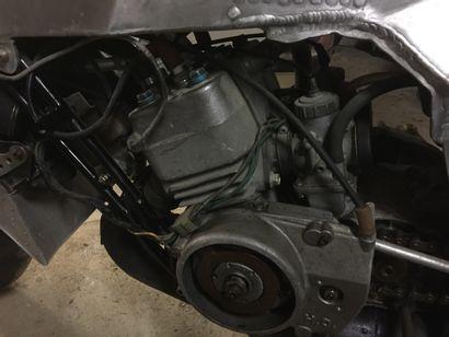 BUT 3 N°003 de 1979 Moteur HO magnésium N° 99137 Complète à 98% Moto à restaurer....