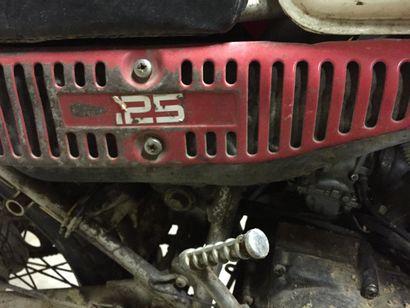 YAMAHA TRIAL 125 Numéro de série 1K6-004824  Moto à restaurer  A immatriculer en...