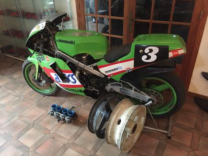 KAWASAKI PERFORMANCE COMPETITION DONCQUES