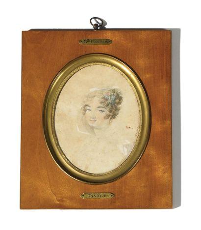 PORTRAIT DE JOSEPHINE WEIMER (1787-1867)...