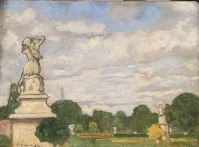 SINEZOUBOFF Nicolas (1891-1956)  Jardin des...
