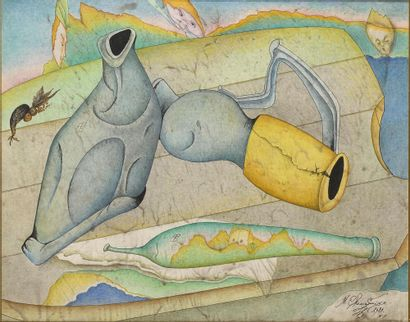 CHEMIAKINE Mikhaïl (1943-)  Composition aux...