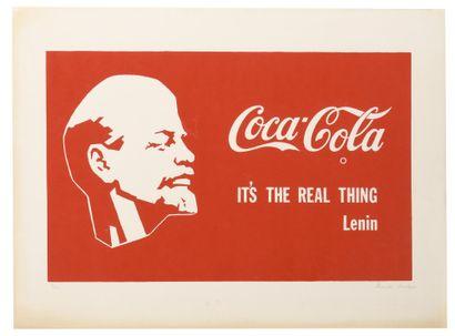 KOSOLAPOV Alexander (1943)  Coca-Cola  Lithographie...