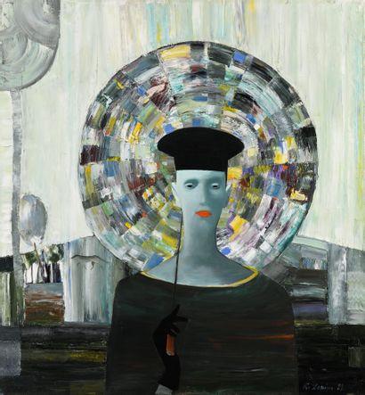 VIJA Zariņa (1961)  Autoportrait : Automne...