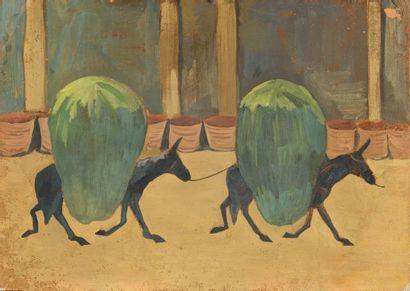 SARIAN MARTIROS (1880-1972), ATTRIBUE A  Deux...