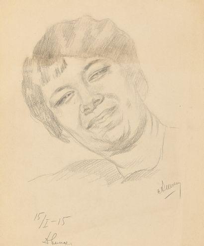 CHEVTCHENKO ALEXANDRE (1882-1948)  Portrait...