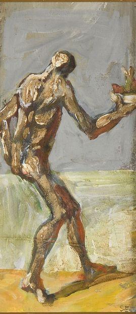 ESSAIAN Sergeï (1929-2007)  Prométhée  Huile...