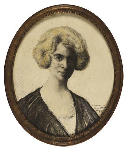 ALTMANN ALEXANDRE (1878-1932)  Portrait de...