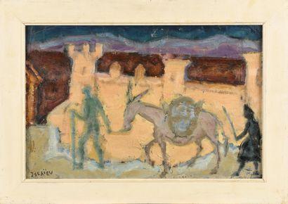 ISSAEV Nicolai (1891-1977)  En Espagne  Huile...