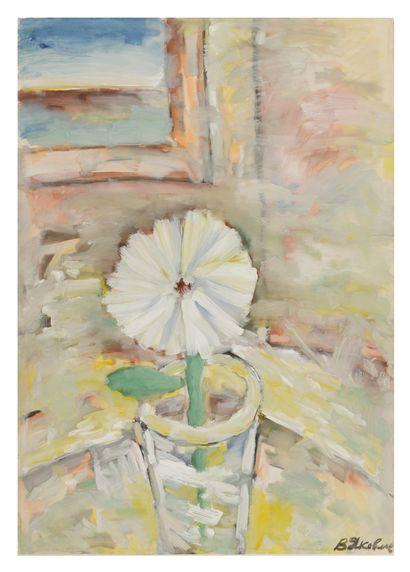 YAKOVLEV Vladimir (1934-1995)  Une fleur...