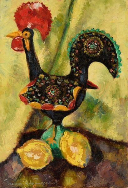 DE POGEDAIEFF GEORGES (1897-1971)  Le Coq...