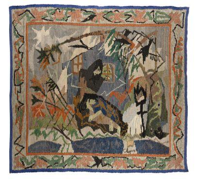 CHAPIRO Jacques (1887-1972)  Gobelin  Tissage...