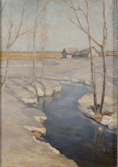 BJALYNICKIJ-BIRULJA Vitold (1872-1957)  Printemps...