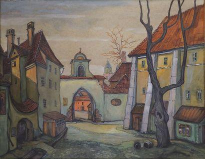 DOBUZINSKIJ MSTISLAV (1875-1957)  Vue de...
