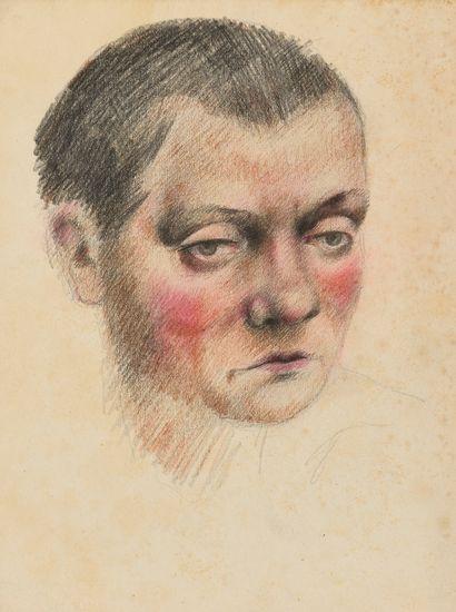 ZEFIROV KONSTANTIN (1879-1960)  Portrait...
