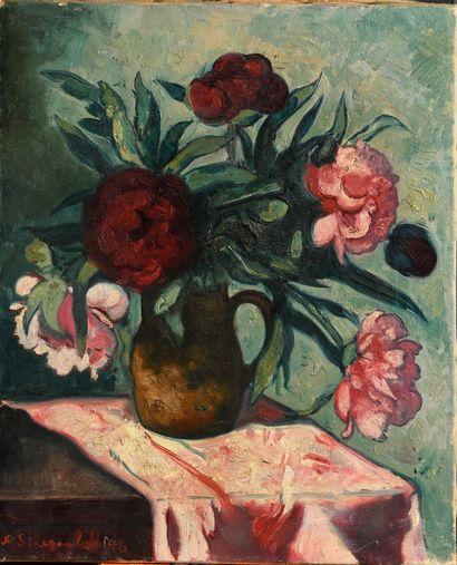 SINEZOUBOFF NICOLAS (1891-1956)  Bouquet...