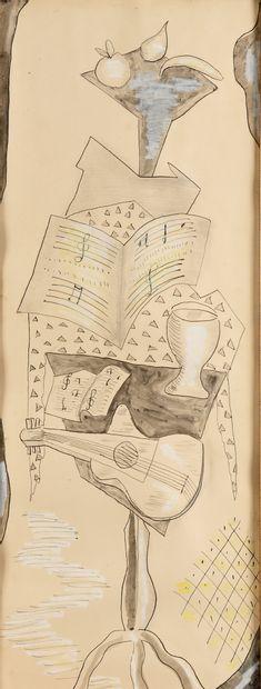 FERAT SERGE (1881-1958)  Composition avec...