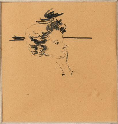 MALJAVIN PHILIPPE (1869-1940)  Portrait d'un...