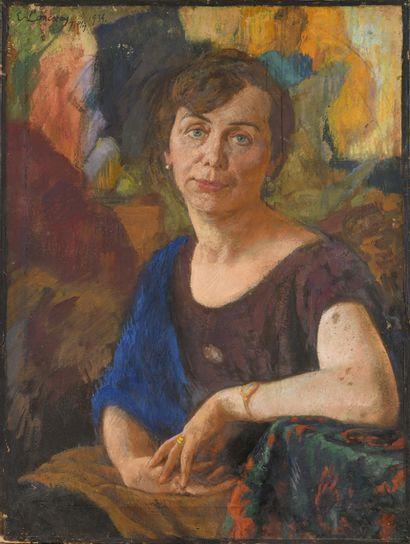 LANCERAY Eugene (1875-1946)  Portrait de...