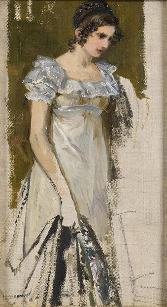 GOLOVIN Aleksandre (1863-1930)  Tatiana Larina,...