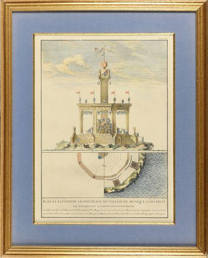 JACQUES-FRANÇOIS BLONDEL (1705-1774) Plan...