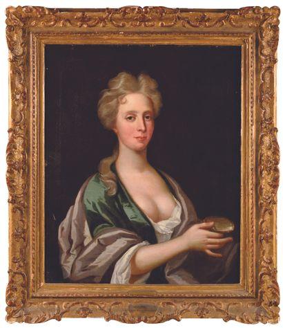 David KLOKER ERENSTRHAL (1629-1698) Portrait...