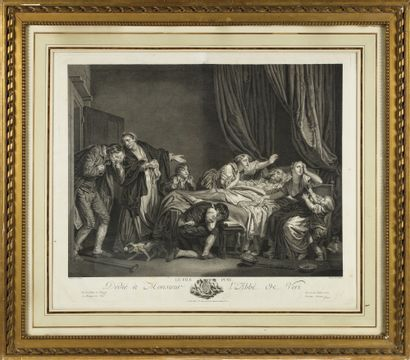RENE GAILLARD (1722/3-C.1790) Le fils puni...