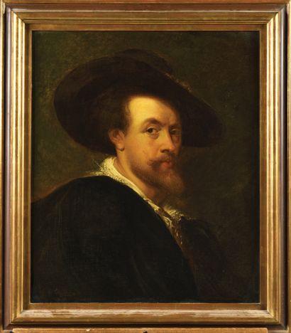 DANS LE GOUT DE REMBRANDT Portrait d'homme...