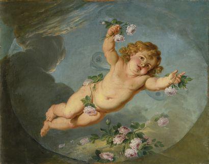 Attribué à Hugues TARAVAL (1729-1785) Le...